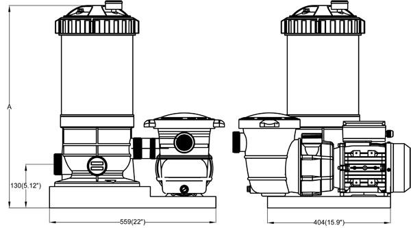 Reliant® - RACS Series Dimension